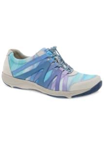 Henriette Blue Multi Suede Athletic Shoes