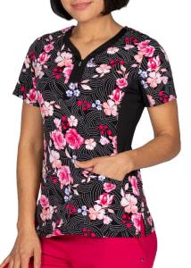 Jessi Rose Garden Print Top