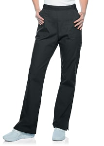 Straight Leg Cargo Pocket Drawstring Pants