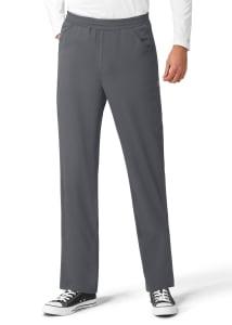 Knit Accent Drawstring Pants