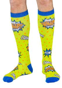Men's Comic Book 8-15mmHg Compression Socks