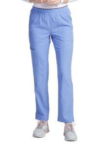 HeartSoul 5 Pocket Logo Waist Scrub Pants