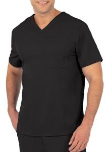 Mason V-Neck One Pocket Top