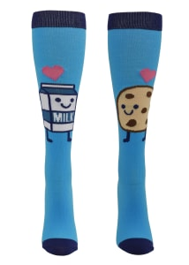 Foodie Friends Milk & Cookies 12-14mmHg Compression Socks