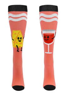 Foodie Friends Wine & Cheese 12-14mmHg Compression Socks