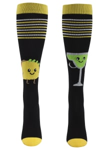 Foodie Friends Men's Tacos & Margaritas 12-14mmHg Compression Socks