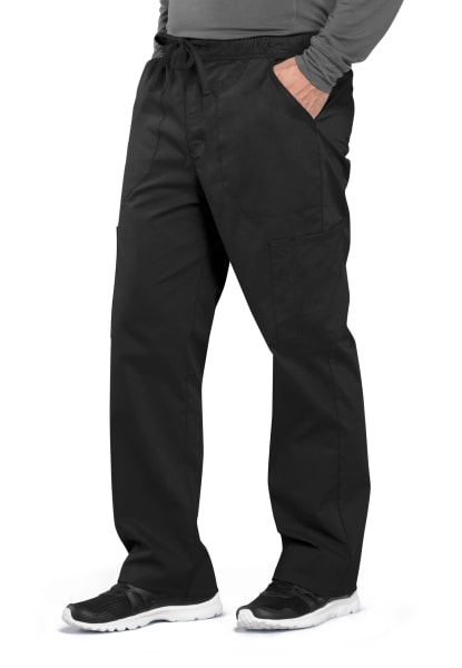 Details about  /Cherokee Workwear Professionals WW190 Men/'s Tapered Leg Drawstring Cargo Scru...