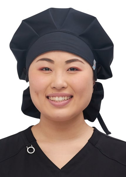 Details about  /8x Cotton Printed Scrub Cap Buttons Turban Bouffant Hat Head Covers Headwear