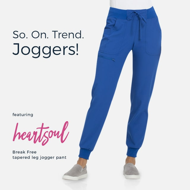 So on-trend joggers!