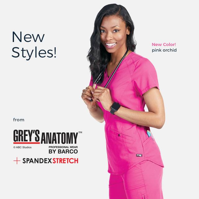 New styles from Grey's Anatomy!