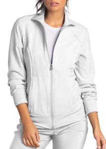 Infinity By Cherokee Zip Front Warm Up Scrub Jackets With Certainty (2391A)