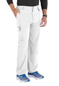 Infinity By Cherokee Mens Button Front Scrub Pants with Certainty (CK200A)