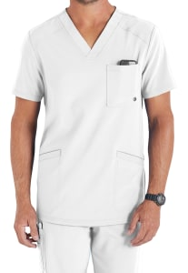 Infinity By Cherokee Men's V-Neck Scrub Top with Certainty (CK900A)
