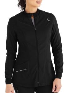 Urbane Align Mock Neck Zip Front Scrub Jacket (9877)