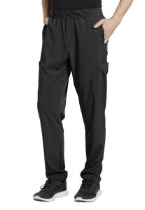 White Cross Fit Men's Elastic Waistband Scrub Pants (229)