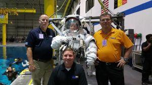 Visita al Centro Espacial Johnson
