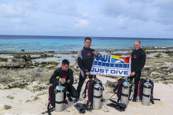 NAUI Dive team Scuba Dive Argentina