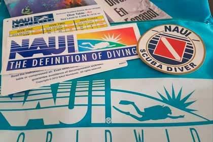 Materiales Scuba Diver