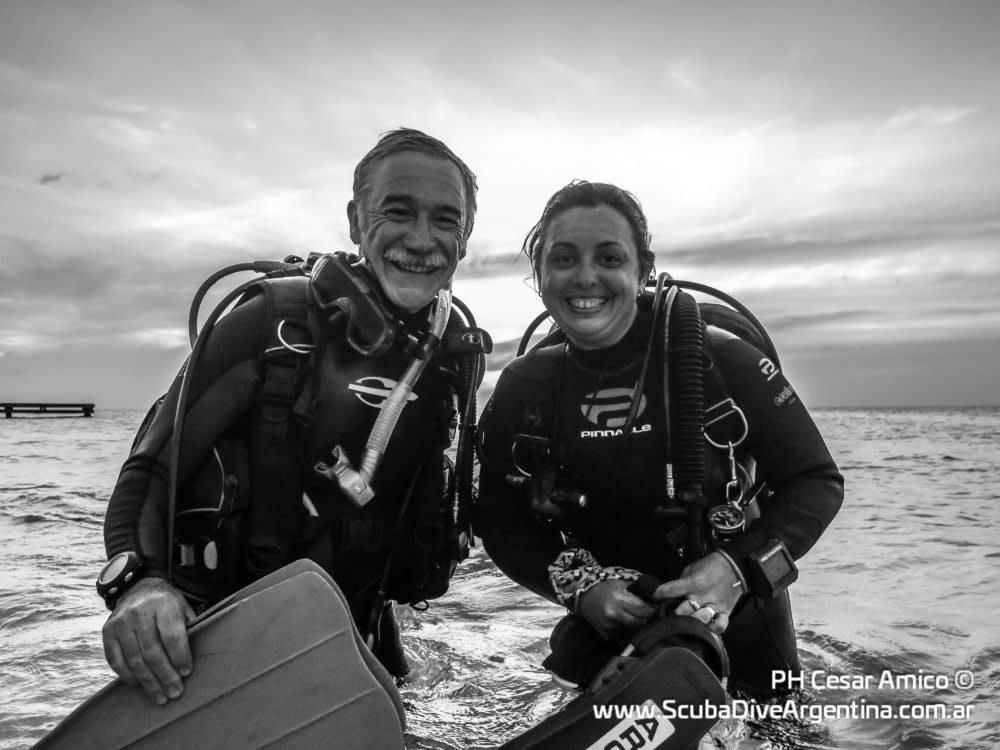 Mariela y Nito en Bonaire