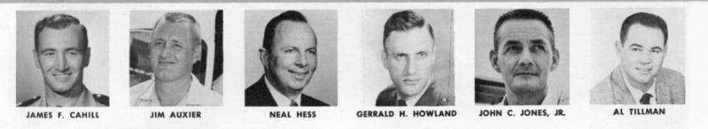 NAUI's First Board of Directors (1960)