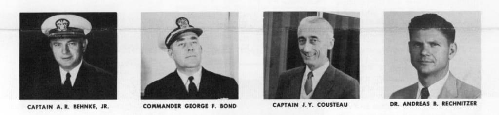 NAUI's First Board of Advisors (1960)