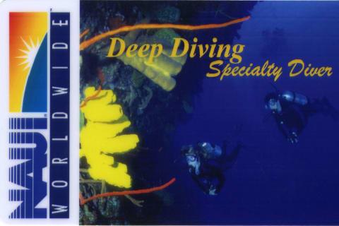 NAUI Deep Diver