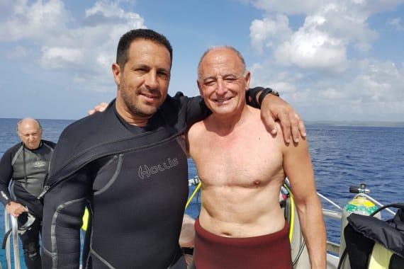 Juan Carlos Ruffino en Bonaire