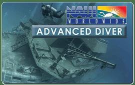 Advanced Scuba Diver NAUI