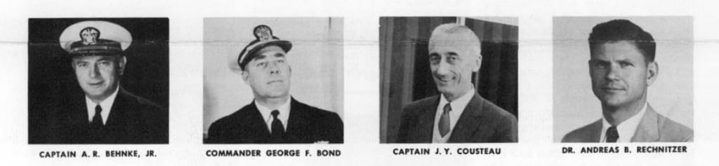 NAUI's First Board of Advisors (1960)