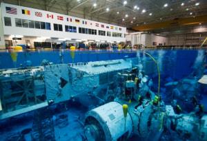 Buzos de la NASA