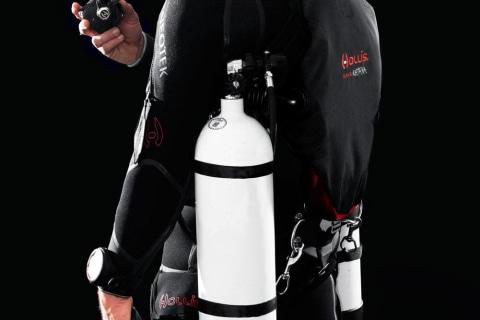 Katana Sidemount diver