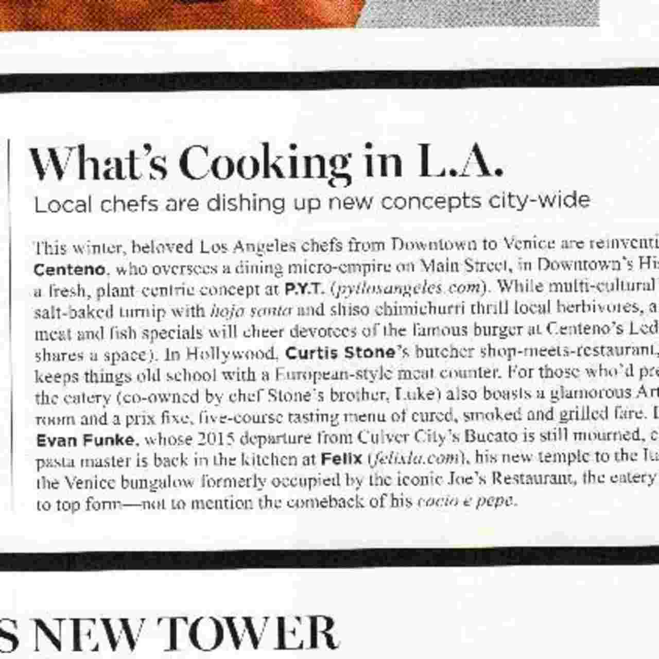 Whats Cooking in L.A
