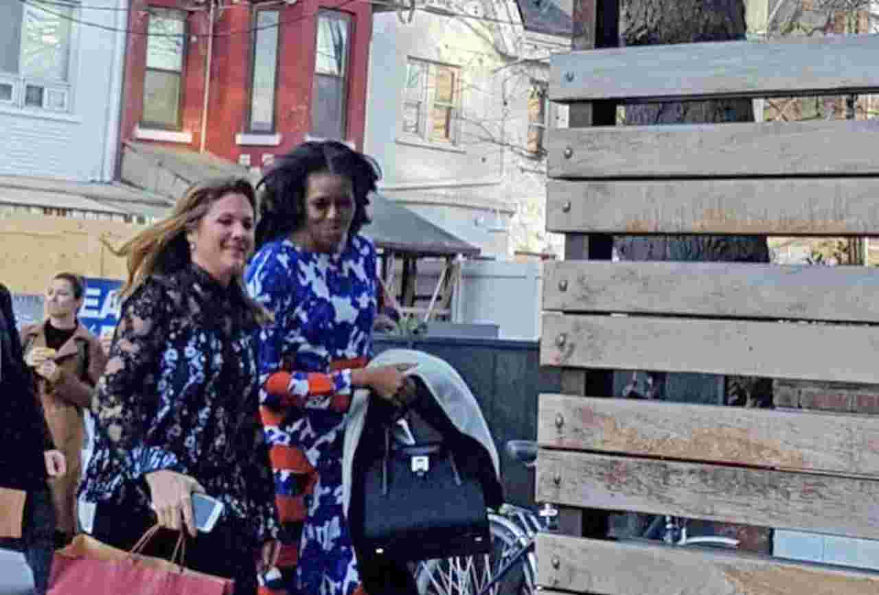 Toronto surprised and delighted by Michelle Obama and Sophie Gregoire Trudeau