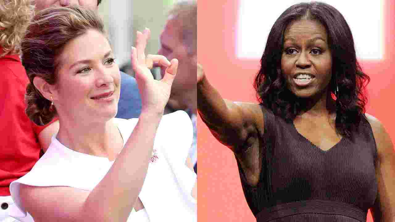 Michelle Obama and Sophie Trudeau Went Shopping Together in Toronto