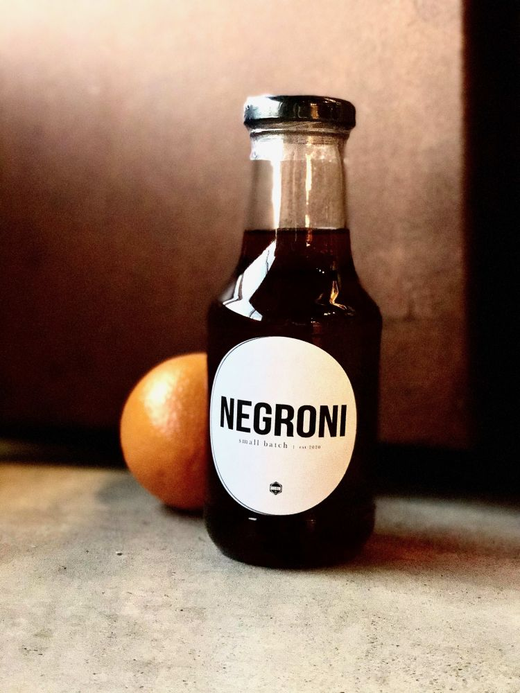 Negroni-In-A-Bottle