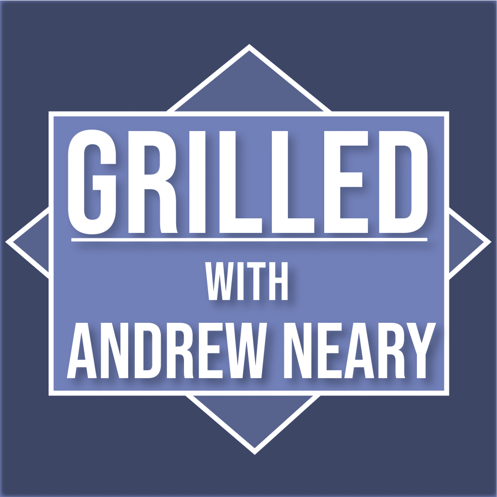 The logo for the Grilled Podcast