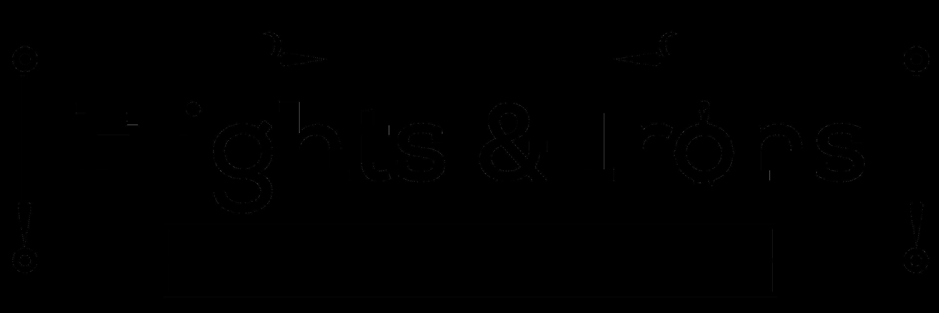 Flights & Irons Urban Kitchen Logo