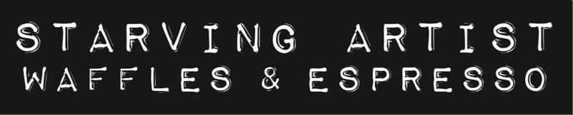Starving Artist - Waffles & Espresso Logo