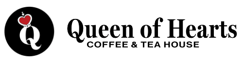 Queen of Hearts Coffee & Tea House Logo