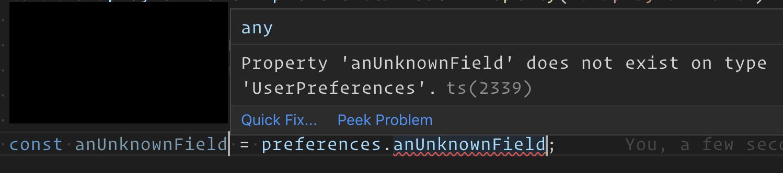 Unknown Property Error