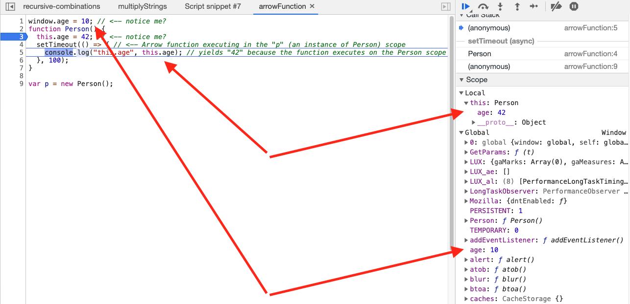 arrow-function-scope