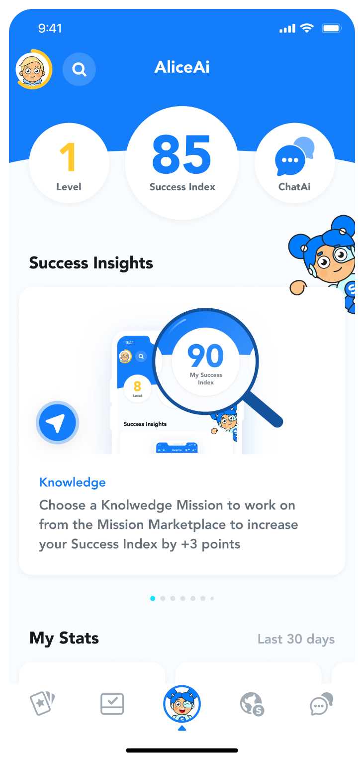 follow mission updates