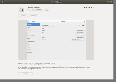 GNOME Tweaks