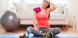 8 λογοι για να κανεις γυμναστικη στο σπιτι