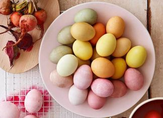 πασχαλινα αυγα χωρις βαφη