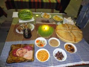 το εθιμο των εννεα χριστουγεννιατικων φαγητων στην θρακη
