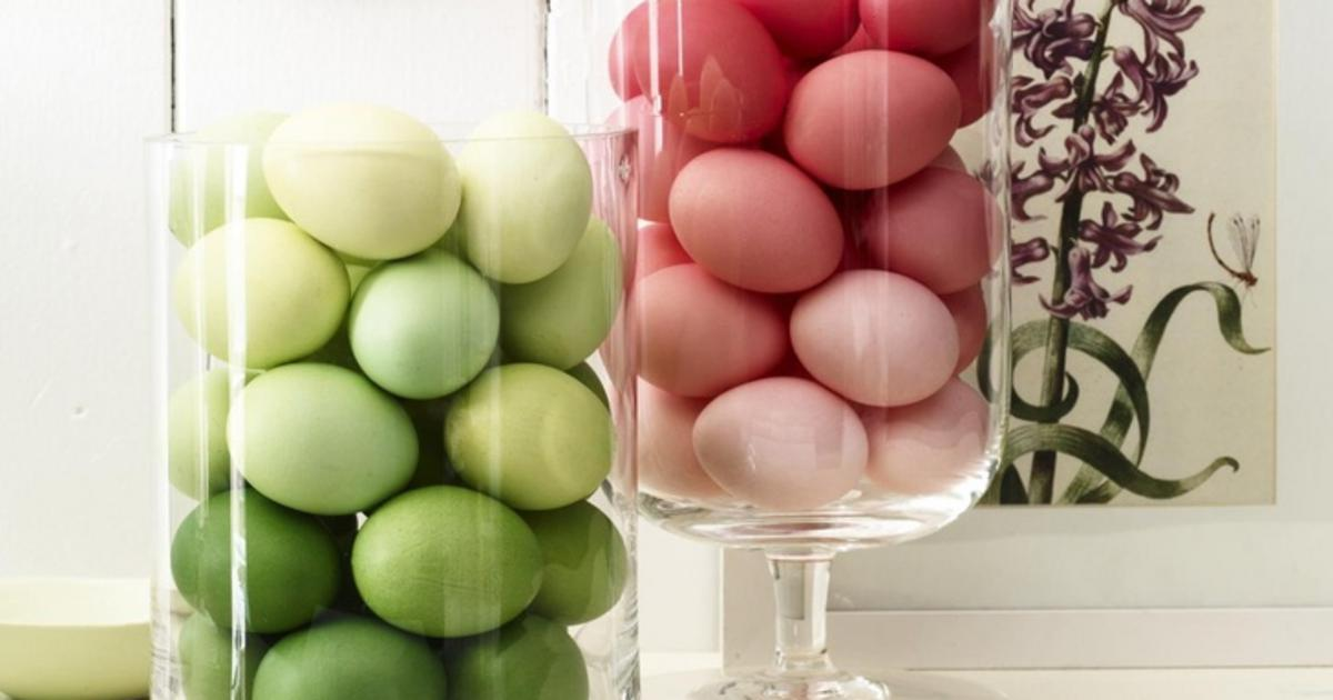 Διακοσμηση με πασχαλινα αυγα