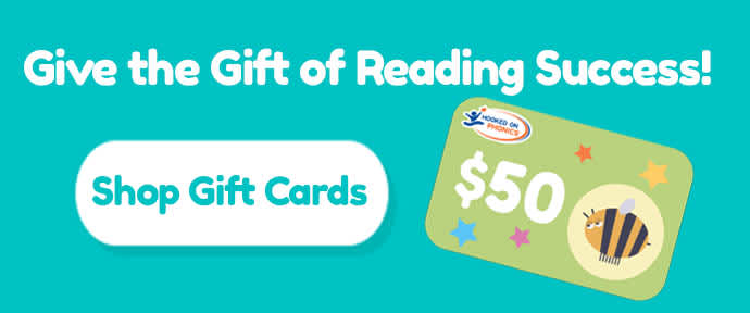 Give the Gift of Reading Success: Shop Gift Cards