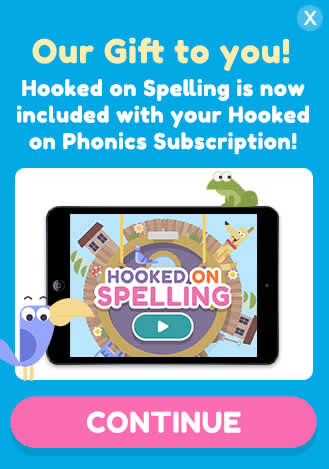 Get Hooked on spelling Free