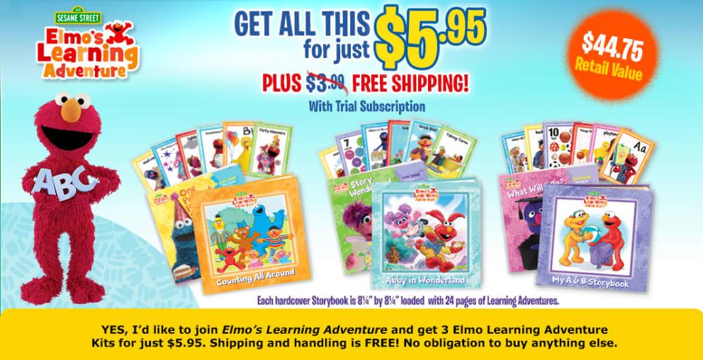 Elmos Learning Adventures